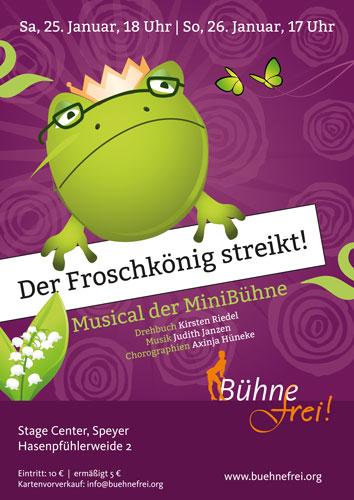 BlogFroschkoenig-Plakat